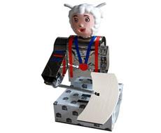 新款智能喜洋洋刀削面机器人