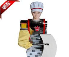 最新调速款模特刀削面机器人