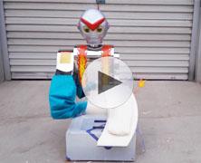 2017新款智能刀削面机器人削面视频